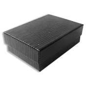 Black Pinstripe Jewelry Gift Boxes