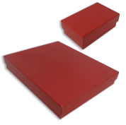 Brick Red Jewelry Gift Boxes