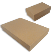 Brown Kraft Jewelry Gift Boxes