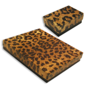 Leopard Jewelry Gift Boxes