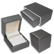 Grey Leatherette Gift Boxes: Park Avenue Line