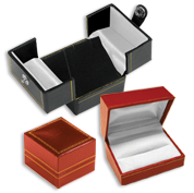 Leather Look Jewelry Gift Boxes